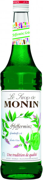 Monin Pfefferminze - Sirup 0,7l Pfefferminzsirup