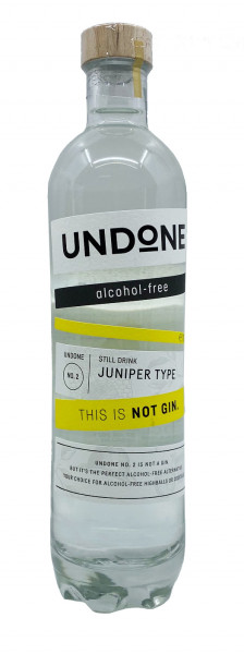 Undone Juniper Type - This is not Gin 0,7l