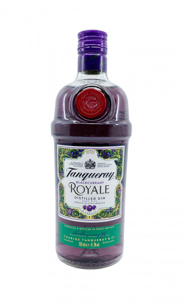 Tanqueray Gin ~ Blackcurrant Royale ~ 0,7l 41,3%vol