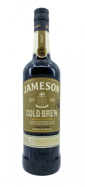 Jameson Cold Brew Limited Edition Kaffee-Whisky-Likör 0,7l
