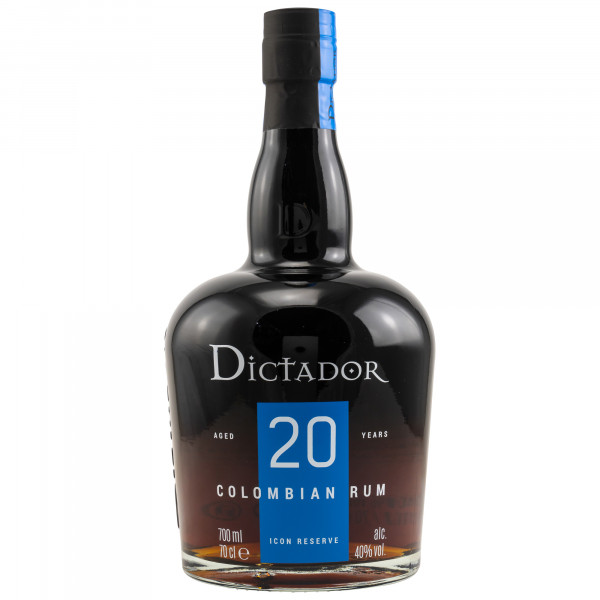 Dictador Icon Reserve Colombian Rum - 20 Years 0,7l 40%vol.