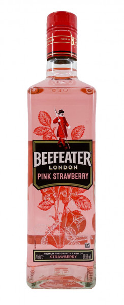 Beefeater London Pink Strawberry Gin 0,7l 37,5%vol.