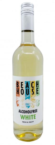 Beachhouse White alkoholfreier Weißwein Fresh & Fruity 0,75l