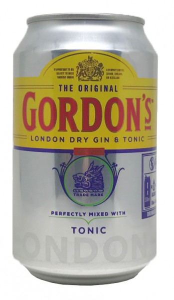 Gordon´s Gin & Tonic Dose 0,33l 10%vol.alc.